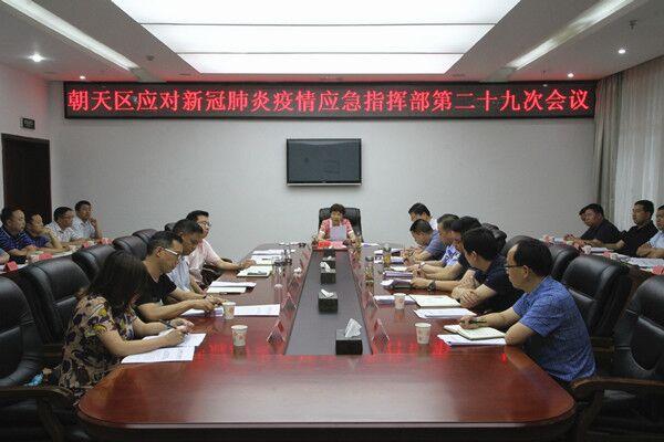 区应对新冠肺炎疫情应急指挥部第二十九次会议召开