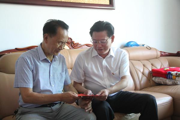 蔡邦银:争当奋发有为的新时代优秀共产党员