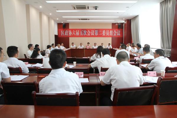 伏玉琼参加区政协六届五次会议第二委员组讨论