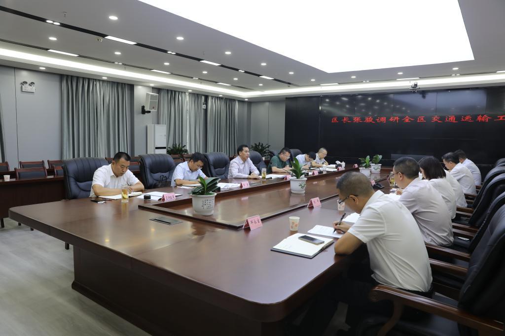 张骏调研全区交通运输工作